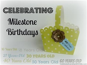 Give milestone gifts with meaning