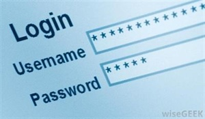 Think before setting a password