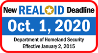 Remember: REAL ID will be required for air travel